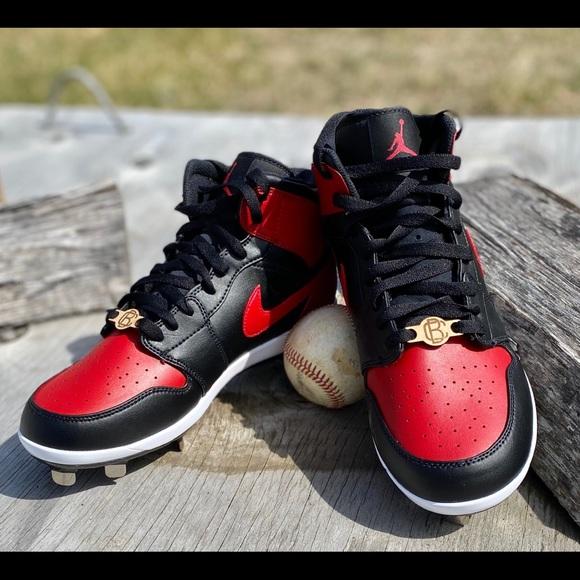 Painted Jordan Baseball Cleats | Poshmark